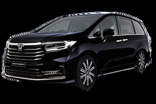 2021 Honda Odyssey 5th Gen Vi LX7 Premium Twinkle Black 7 Speed Automatic