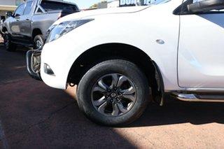 2015 Mazda BT-50 MY13 XTR (4x4) White 6 Speed Automatic Dual Cab Utility.