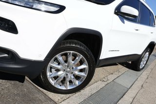 2015 Jeep Cherokee KL MY16 Limited White 9 Speed Sports Automatic Wagon.