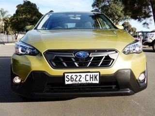 2020 Subaru XV G5X MY21 2.0i Lineartronic AWD Plasma Yellow/black 7 Speed Constant Variable Wagon.