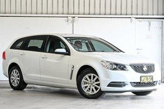 2016 Holden Commodore VF II MY16 Evoke Sportwagon White 6 Speed Sports Automatic Wagon.