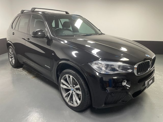 Used BMW X5 F15 xDrive30d Newcastle West, 2016 BMW X5 F15 xDrive30d Black Sapphire 8 Speed Sports Automatic Wagon