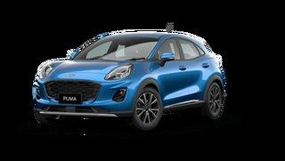 2021 Ford Puma JK 2021.25MY Puma Desert Island Blue 7 Speed Sports Automatic Dual Clutch Wagon