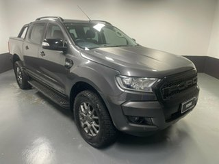2017 Ford Ranger PX MkII FX4 Double Cab Meteor 6 Speed Sports Automatic Utility.