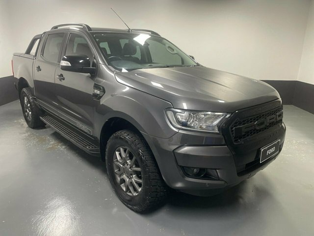 Used Ford Ranger PX MkII FX4 Double Cab Hamilton, 2017 Ford Ranger PX MkII FX4 Double Cab Meteor 6 Speed Sports Automatic Utility