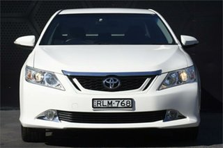 2012 Toyota Aurion GSV50R Touring White 6 Speed Sports Automatic Sedan.