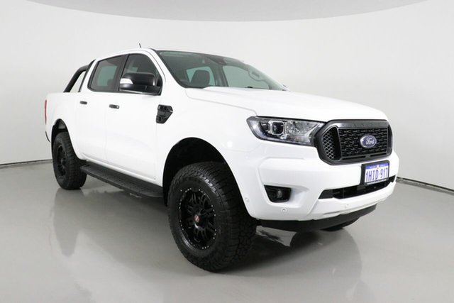 Used Ford Ranger PX MkIII MY21.25 XLT 3.2 (4x4) Bentley, 2021 Ford Ranger PX MkIII MY21.25 XLT 3.2 (4x4) White 6 Speed Automatic Double Cab Pick Up