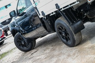 2018 Mazda BT-50 UR0YG1 XT Freestyle 4x2 Hi-Rider Jet Black 6 Speed Sports Automatic Cab Chassis.