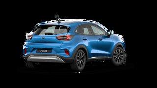 2021 Ford Puma JK Puma Desert Island Blue 7 Speed Automatic.