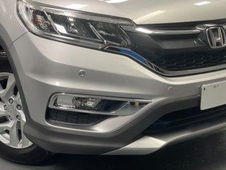 2015 Honda CR-V RM Series II MY16 VTi-S 4WD Silver 5 Speed Sports Automatic Wagon.