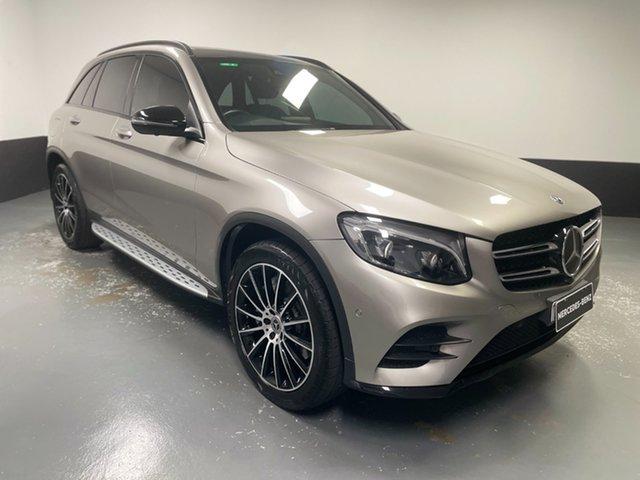 Used Mercedes-Benz GLC-Class X253 808MY GLC250 d 9G-Tronic 4MATIC Newcastle West, 2018 Mercedes-Benz GLC-Class X253 808MY GLC250 d 9G-Tronic 4MATIC Gold 9 Speed Sports Automatic