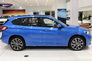 2020 BMW X1 F48 LCI xDrive25i Steptronic AWD Misano Blue Metallic 8 Speed Sports Automatic Wagon.