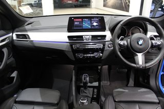 2020 BMW X1 F48 LCI xDrive25i Steptronic AWD Misano Blue Metallic 8 Speed Sports Automatic Wagon