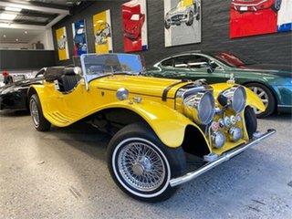 1972 Jaguar SS 100 SS ROADSTER REPLICA Yellow Automatic Roadster.