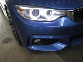 2016 BMW 430i F32 MY16.5 M Sport Blue 8 Speed Automatic Coupe.