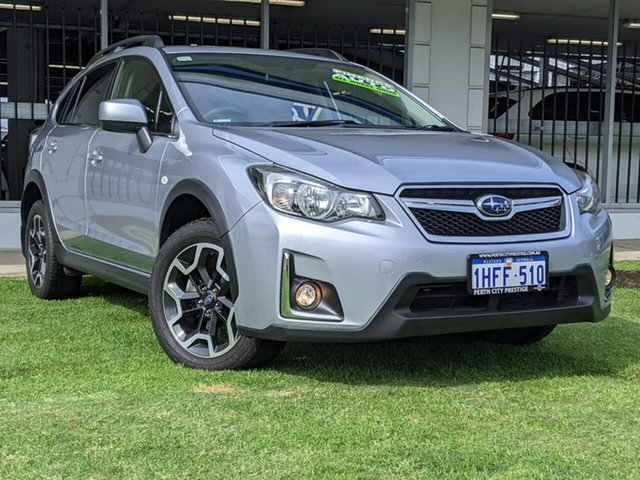 Used Subaru XV G4X MY16 2.0i-L Lineartronic AWD Victoria Park, 2016 Subaru XV G4X MY16 2.0i-L Lineartronic AWD Silver 6 Speed Constant Variable Wagon