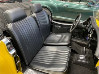 1972 Jaguar SS 100 SS ROADSTER REPLICA Yellow Automatic Roadster