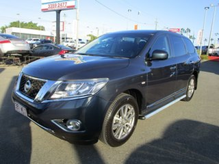 2016 Nissan Pathfinder R52 MY16 ST-L X-tronic 2WD Blue 1 Speed Constant Variable Wagon.