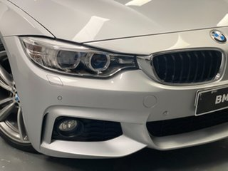 2014 BMW 4 Series F32 420i M Sport Silver 8 Speed Sports Automatic Coupe.