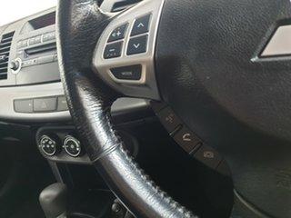 2010 Mitsubishi Lancer CJ MY10 Activ Sportback Mystic Blue 6 Speed Constant Variable Hatchback