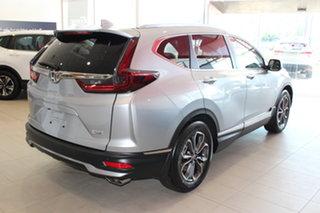 2021 Honda CR-V RW MY21 VTi 4WD LX AWD Lunar Silver 1 Speed Constant Variable Wagon.