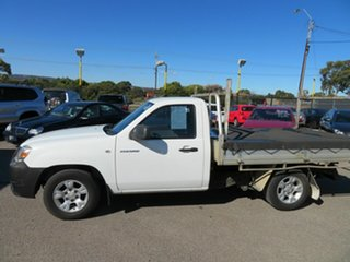 2009 Mazda BT-50 08 Upgrade B2500 DX White 5 Speed Manual Cab Chassis