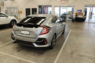 2020 Honda Civic 10th Gen MY20 VTi-LX Lunar Silver 1 Speed Constant Variable Hatchback