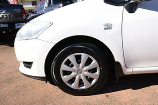 2009 Toyota Corolla ZRE152R MY09 Ascent White 4 Speed Automatic Hatchback.