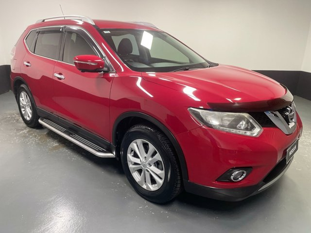 Used Nissan X-Trail T32 ST-L X-tronic 2WD Raymond Terrace, 2014 Nissan X-Trail T32 ST-L X-tronic 2WD Red 7 Speed Constant Variable Wagon