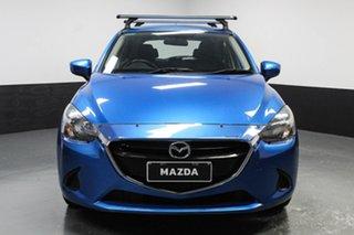2015 Mazda 2 DJ2HA6 Neo SKYACTIV-MT Blue 6 Speed Manual Hatchback.