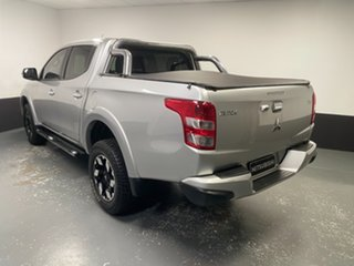 2015 Mitsubishi Triton MQ MY16 Exceed Double Cab Silver, Chrome 5 Speed Sports Automatic Utility