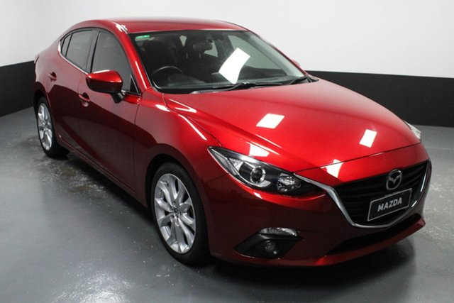 Used Mazda 3 BM5238 SP25 SKYACTIV-Drive Hamilton, 2016 Mazda 3 BM5238 SP25 SKYACTIV-Drive Red 6 Speed Sports Automatic Sedan