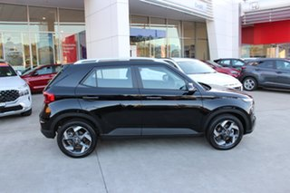 2020 Hyundai Venue QX.V3 MY21 Active Phantom Black 6 Speed Automatic Wagon.