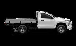 2021 Mitsubishi Triton MR MY21 GLX 4x2 White 6 Speed Sports Automatic Cab Chassis.