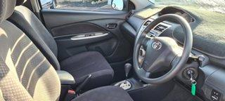 2007 Toyota Yaris NCP93R YRS White 4 Speed Automatic Sedan