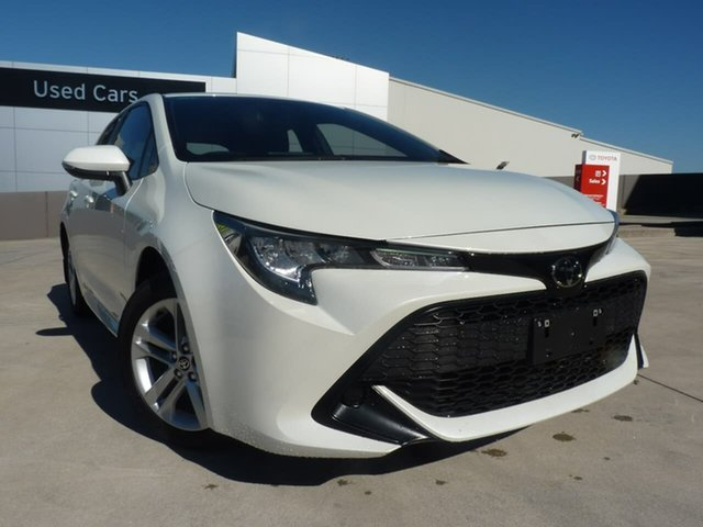 Pre-Owned Toyota Corolla Mzea12R Ascent Sport Blacktown, 2019 Toyota Corolla Mzea12R Ascent Sport Crystal Pearl 10 Speed Constant Variable Hatchback