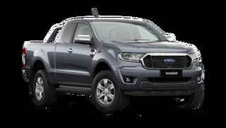 2021 Ford Ranger PX MkIII 2021.25MY XLT Meteor Grey 6 Speed Sports Automatic Super Cab Pick Up.