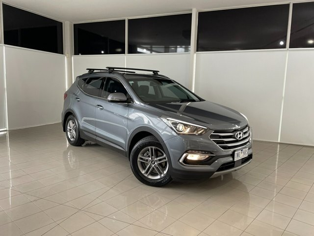 Used Hyundai Santa Fe DM5 MY18 Active Deer Park, 2018 Hyundai Santa Fe DM5 MY18 Active Silver, Chrome 6 Speed Sports Automatic Wagon