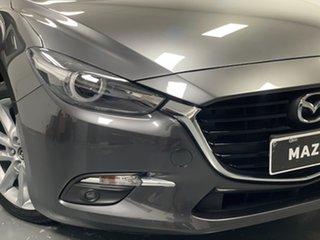 2018 Mazda 3 BN5238 SP25 SKYACTIV-Drive Grey 6 Speed Sports Automatic Sedan.