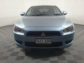 2010 Mitsubishi Lancer CJ MY10 Activ Sportback Mystic Blue 6 Speed Constant Variable Hatchback.