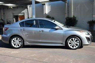 2009 Mazda 3 BL10L1 SP25 Silver 6 Speed Manual Sedan.