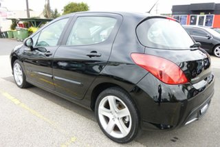 2008 Peugeot 308 T7 XTE Nero Black 6 Speed Sports Automatic Hatchback