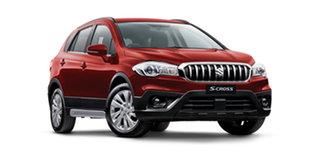 2020 Suzuki S-Cross JY Turbo Energetic Red 6 Speed Sports Automatic Hatchback