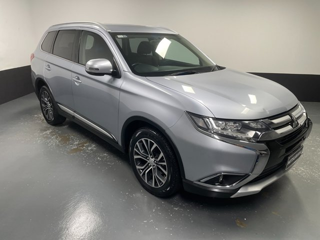 Used Mitsubishi Outlander ZK MY16 LS 4WD Raymond Terrace, 2016 Mitsubishi Outlander ZK MY16 LS 4WD Silver 6 Speed Constant Variable Wagon