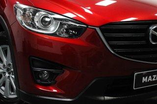 2015 Mazda CX-5 KE1032 Maxx SKYACTIV-Drive AWD Sport Red 6 Speed Sports Automatic Wagon.