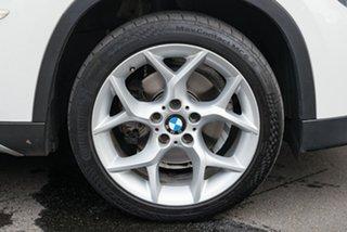 2010 BMW X1 E84 MY11 sDrive18i Steptronic Alpine White 6 Speed Sports Automatic Wagon