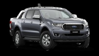 2021 Ford Ranger PX MkIII XLT Double Cab Meteor Grey 6 Speed Automatic Pick Up.