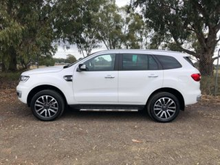 2019 Ford Everest UA II 2019.75MY Titanium White 10 Speed Sports Automatic SUV