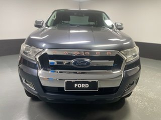2016 Ford Ranger PX MkII XLT Super Cab Metropolitan Grey 6 Speed Sports Automatic Utility.