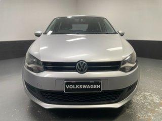 2013 Volkswagen Polo 6R MY13.5 77TSI Comfortline Silver 6 Speed Manual Hatchback.